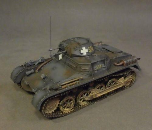 John Jenkins Designs Soldiers Tank GA-11A WWII Panzerkampfwagen I Ausf A 1/30