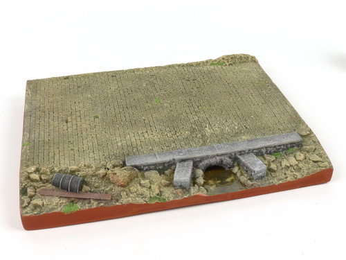 All Diorama Pavement Road with Drainage ADV004