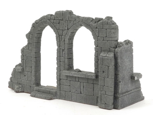 All Diorama  Church Corner Ruins, Central Europe ADC002