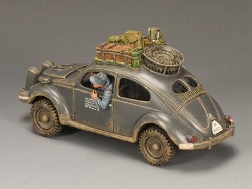King & Country Soldiers LW043 Luftwaffe Volkswagen Vehicle Retired