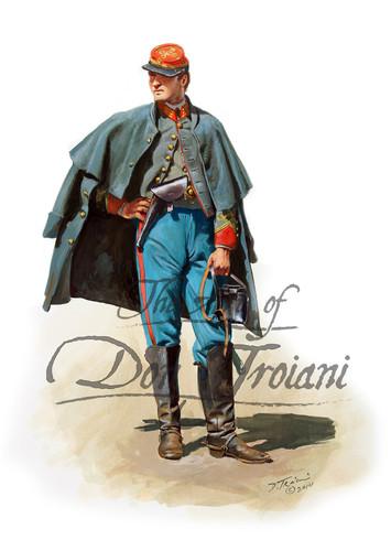 Confederate Light Artillery Officer - American Civil War