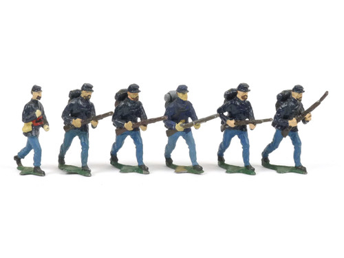 Authenticast Comet American Civil War Northern Infantry Advancing 1865