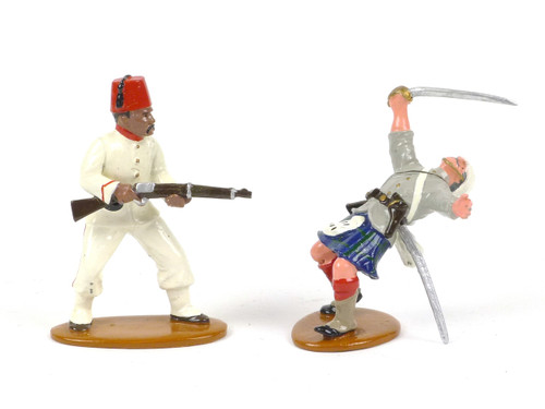 Trophy Miniatures Egypt and the Sudan Shooting Black Watch Soldier DHE1