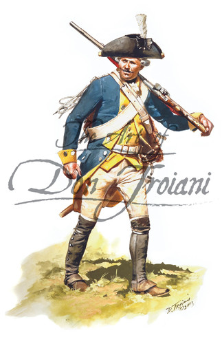 Brunswick Dragoon, Prinz Ernst Ludwig 1777 - American Revolution