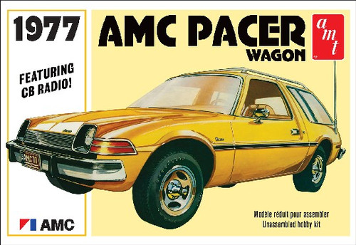 AMT Plastic Models 1008 1977 AMC Pacer Wagon 1/25 Scale