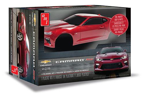 AMT Plastic Models 1020 2016 Chevy Camaro SS 1/25 Scale