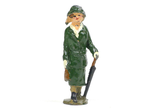 Johillco Toy Soldiers Railway Staff  Lady Passenger with Green hat #220