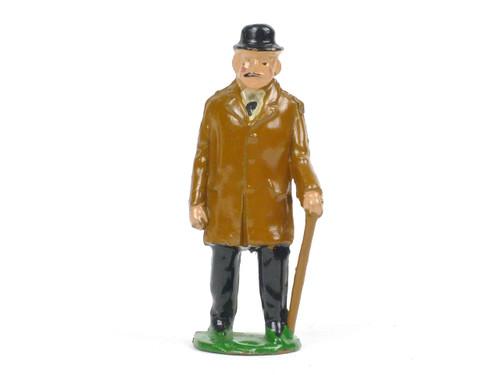 Johillco Toy Soldiers Railway Staff  Gentleman Passenger #221