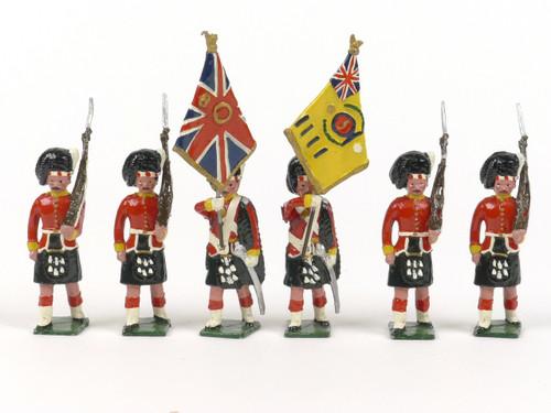 Blenheim Military Models B43 Argyll & Sutherland Highlanders Colours 1914