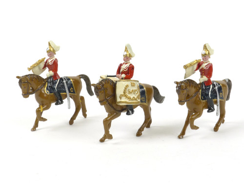 Blenheim Military Models C7 Queen's Bays Drums and Trumpeters 1900