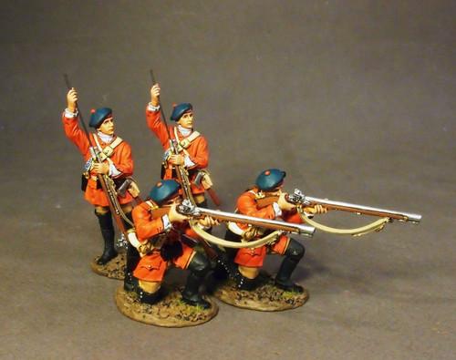 John Jenkins Designs BRLX-04N The Battle of Bushy Run Light Infantry Company Skirmishing