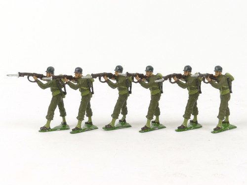 Authenticast 309 Comet US Marines Standing Firing