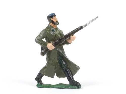 Authenticast Comet Infantry of Line Charging Soviet Guard H