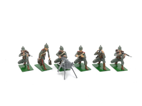 Alymer Toy Soldiers Set AB-54 German Infantry in Action - WWI