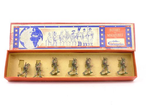 Authenticast Toy Soldiers Set 252 Britain North African Infantry 1942