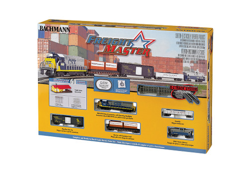 Bachmann N Scale 24022 Freightmaster GP40 Freight Set CSX Locomotive