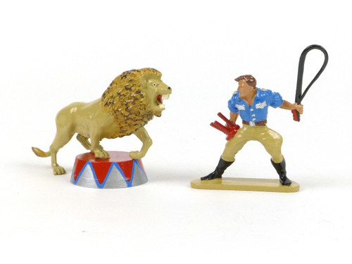 Britains Circus Lion Tamer And Lion 8672 W Britain