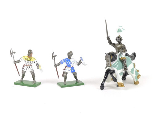 Britains Tournament Knights With Spears And Lance W Britain Toy Soldiers 8764