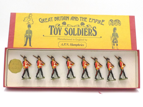 APN Humphries Toy Soldiers The Buffs Marching Circa 1900