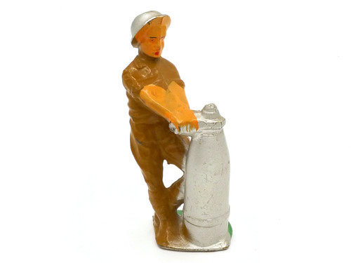 Manoil Anti-Tank Figure Fusing Bomb Toy Soldiers American Dimestore