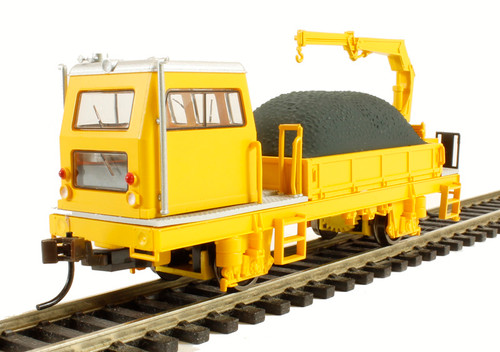 Bachmann HO Trains 87902 Ballast Vehicle with Crane DCC Equiped