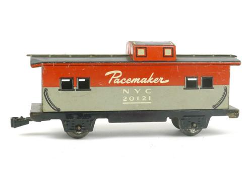 Marx Trains 20121 New York Central Tin Caboose 4 Wheel