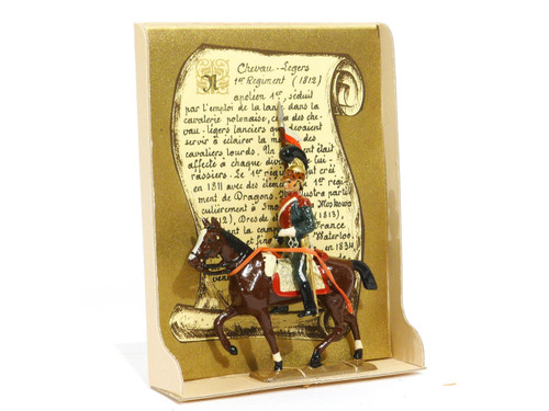 Mignot Toy Soldiers Light Horse Lancers  Set 219