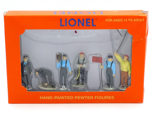 Lionel 6-24193 Railroad Yard People Pack O Scale