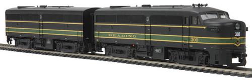 MTH Trains 80-2095-0 HO Reading Alco FA-1 A/B Set DCC Ready