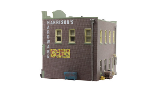 Woodland Scenics BR4921 Harrison's Hardware N Scale Train Building