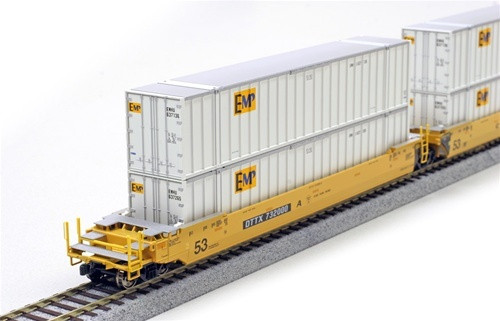 Kato HO Trains 309022 53' Container EMP 2 Pack