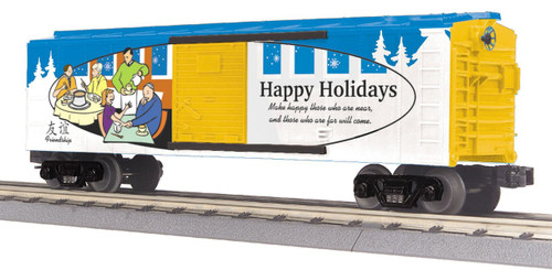 MTH RailKing Trains 30-74824 Christmas O Gauge Box Car