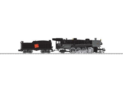 Lionel O Gauge 6-84466 Grand Trunk Western USRA Light Mikado #3734
