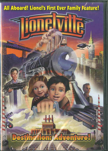 Lionelville Destination: Adventure DVD 6-35526