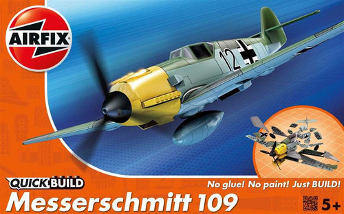 Airfix J6001 Messerschmitt BF 109 Quickbuild Plastic Model Kit