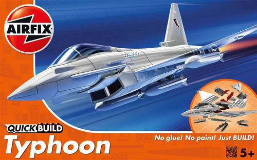 Airfix J6002 EuroFighter Typhoon Quickbuild Plastic Model Kit