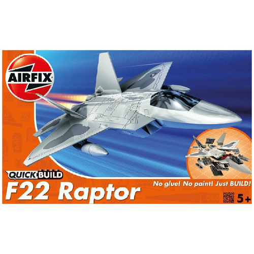 Airfix J6005 F22 Raptor Quickbuild Plastic Model Kit