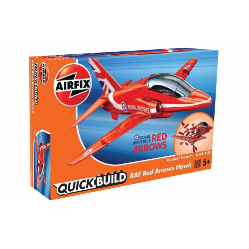 Airfix J6018 Quickbuild RAF Red Arrows Hawk Royal Air Force Plastic Model Kit