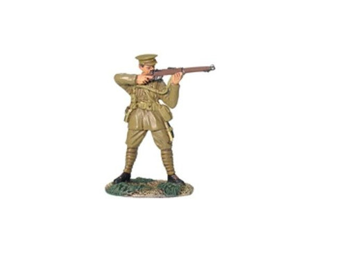 WWI British Infantry Standing, Firing - 1 Piece Set in Clamshell Pack
