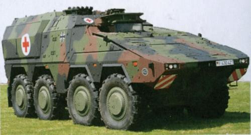 Promotex 780031 HO A) Boxer Ambulance Model Kit 1/87 Scale