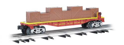 Bachmann Trains 47556 Ringling Bros. and Barnum & Bailey Flat Car with Crates