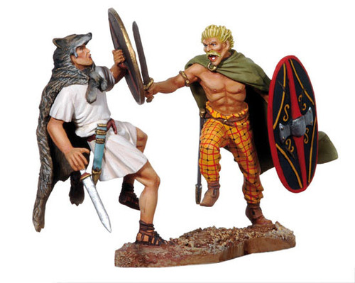 Black Hawk Toy Soldier BH0307 Roman Veles and Celtic Warrior