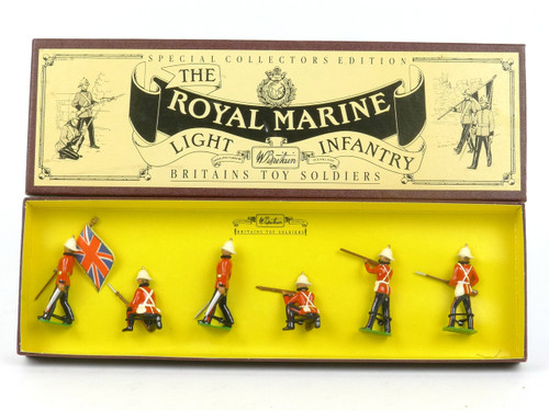 WBritain 8808 The Royal Marine Light Infantry