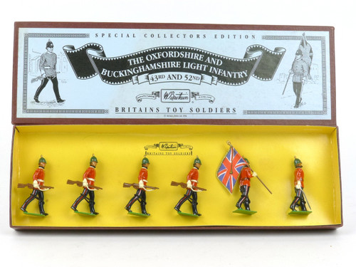 WBritain 8890 The Oxfordshire and Buckinghamshire Light Infantry 43rd and 52nd