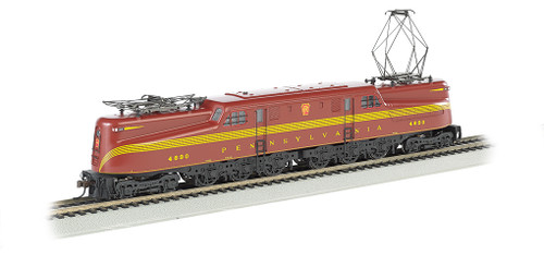 Bachmann Electric Train 65206 PRR Tuscan Red 5 Stripe #4890-DCC Ready HO