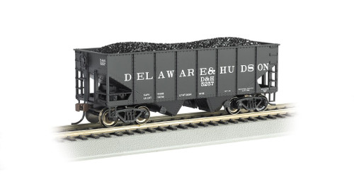 Bachmann Electric Trains 19505 HO 55t 2-bay Outside Braced Hopper D&H