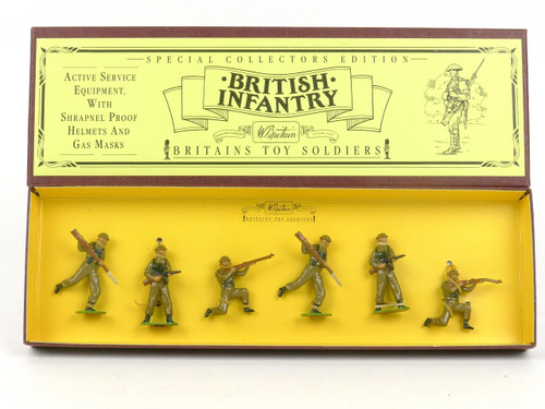 WBritain Britains Toy Soldiers 8803 British Infantry