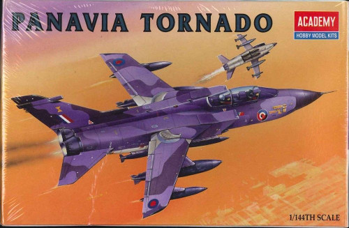Academy 4431 Panavia 200 Tornado Fighter Plastic Model Airplane Kit 1/144 Scale