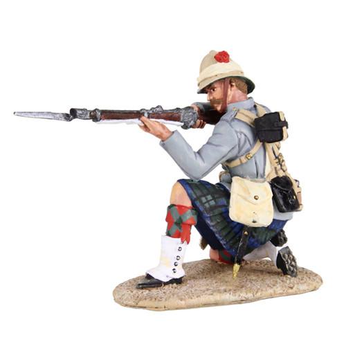 British 42nd Highlander Kneeling Firing - 1 Piece Set in Window Box