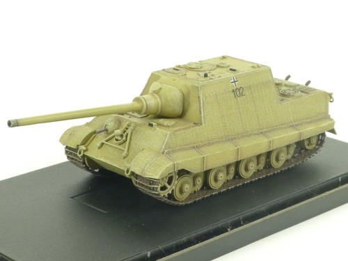 Dragon Armor 60112 WW2 Jagdtiger Porsche With Zimmerit Germany 1945 1/72 Diecast